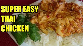 Slow Cooker Thai Chicken Recipe | Episode 33