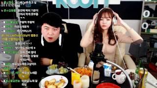 5 크리스마스 특집 BJ미유 와 달달한 술먹방  KoonTV