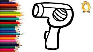 Раскраска для детей ФЕН. Мультик - Раскраска. Учим цвета II ОБУЧАШКА ТВ