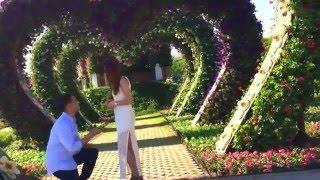 Julian & Genevieve's Engagement in Dubai