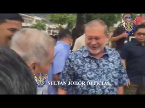 Sultan of Johor : Visit to Penang Island, May 2016.