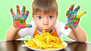 Wash Hands Healthy Habits Song | Nikki Sing-Along Nursery Rhymes Kids Songs |동요와 아이 노래 | 어린이 교육