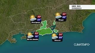 Previsão Grande Rio – Calor e rajadas de vento