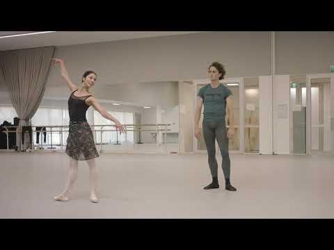 Rehearsing Tschaikovsky Pas de Deux | Counterpointe | Season 2021