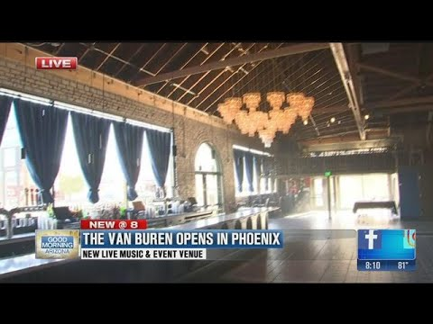 The Van Buren opens in Downtown Phoenix