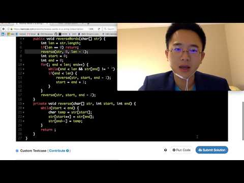 15 min Java Coding Challenge - Reverse Words in a String