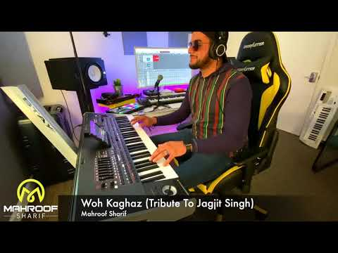 Woh Kaghaz Ki Kashti Jagjit Singh Tribute Mahroof Sharif 2019 HD