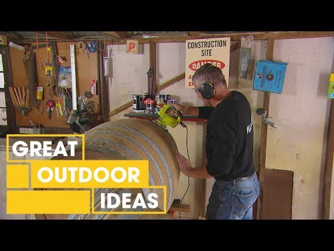 How To Make Furniture From Wine Barrels | Indoor | Great Home Ideas