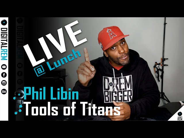 Live at Lunch | Tools Of Titans | Phil Libin