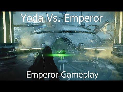 Download Youtube: YODA VS EMPEROR & Emperor Gameplay - Star Wars Battlefront 2