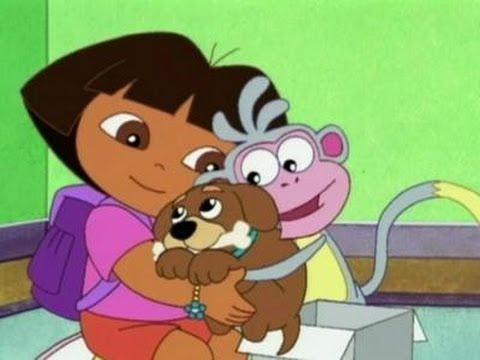 Dora the explorer : Puppy and Dora Adventure MovieGame
