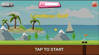 Limitless Golf - Android Gameplay ᴴᴰ
