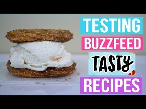 TASTY BUZZFEED RECIPES TESTED #6