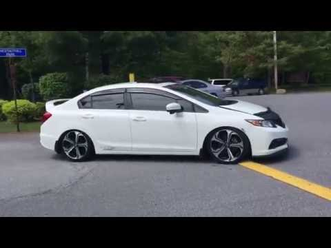 2015 9th gen honda civic si buddyclub exhuast w resonator. Black Bedroom Furniture Sets. Home Design Ideas