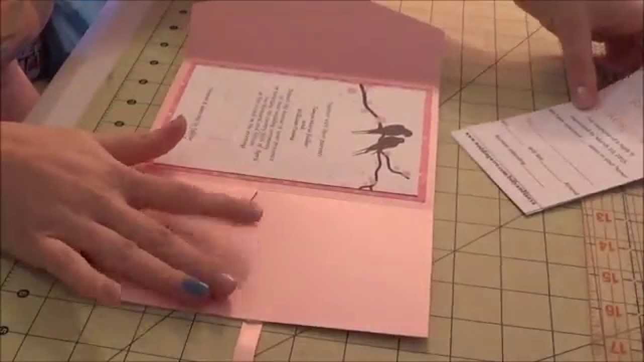 Affordable Wedding Invites: DIY Affordable Wedding Invitations