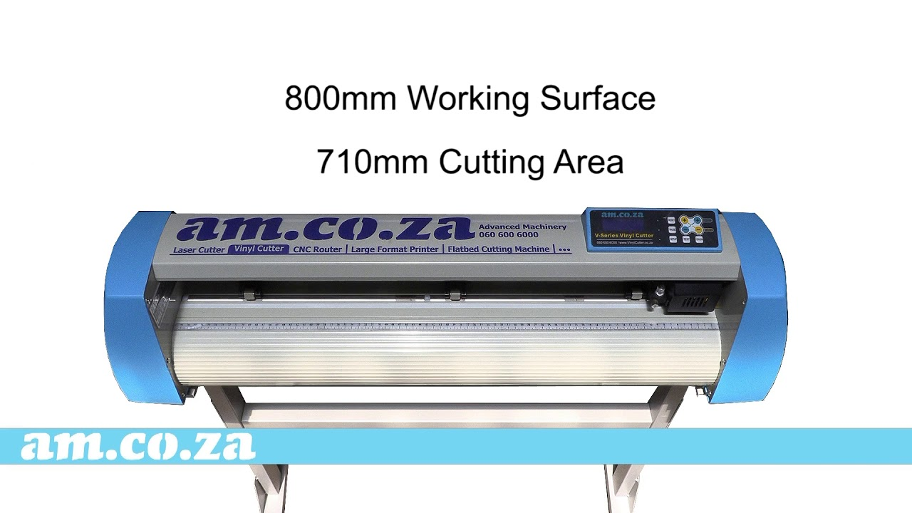 South Africa S V Series V 800 Vinyl Cutter 2019 Has A New Fresh Look And A Very Affordable Price Youtube