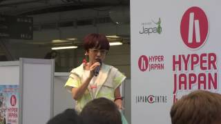 Charisma.com performing Live at Hyper Japan 2016 at the London Olym...