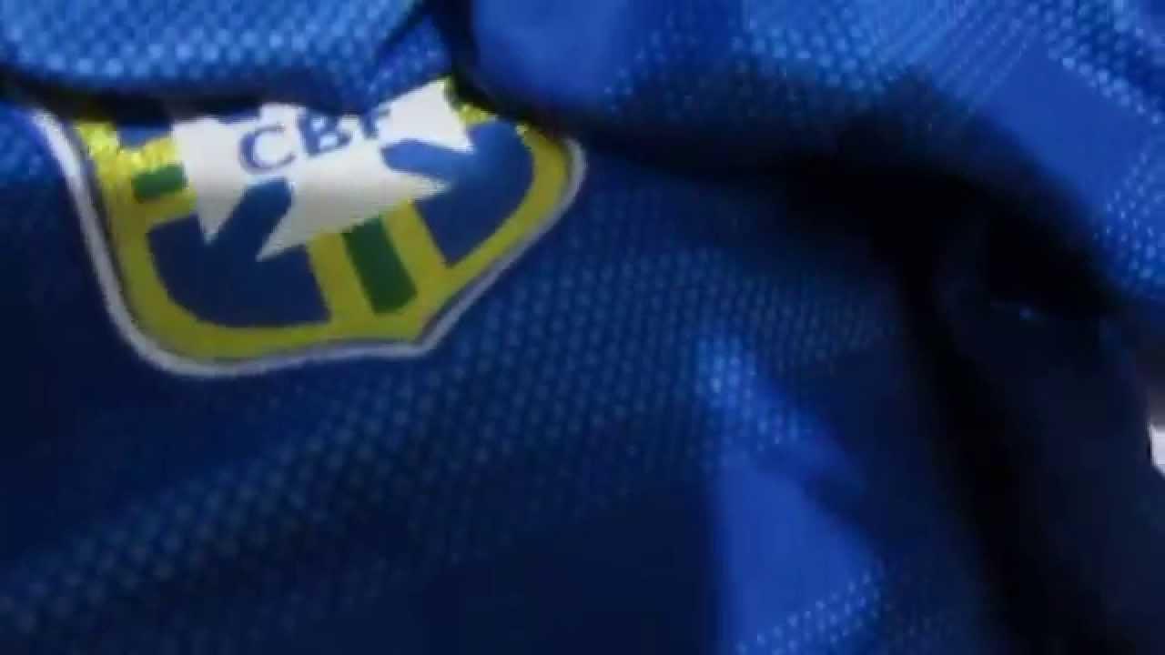 UNBOXING  2 Camisa do Brasil Azul Masculina - AliExpress - YouTube 4f8de4f8e1236