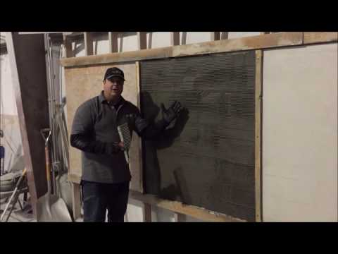 How To Do Vertical Stamped Amp Carved Concrete Overlay St
