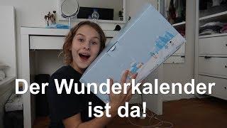 Mein Wunderkalender ist angekommen!!!- Auspacken+Reaktion