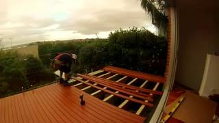 Aluminum Decking Installation