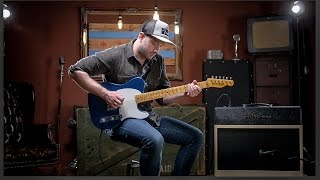 Download Fender Custom Shop Limited 1955 Relic Esquire Aged Lake Placid Blue Electric Guitar Demo MP3 song and Music Video