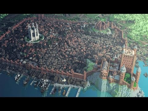 Minecraft Game of Thrones Kings Landing City!