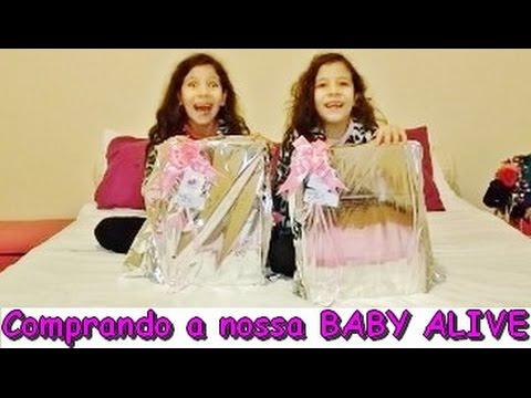 Comprando A Nossa Baby Alive Youtube