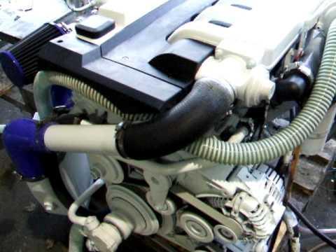 BMW Marine Diesel 150HP intercooled.AVI - YouTube