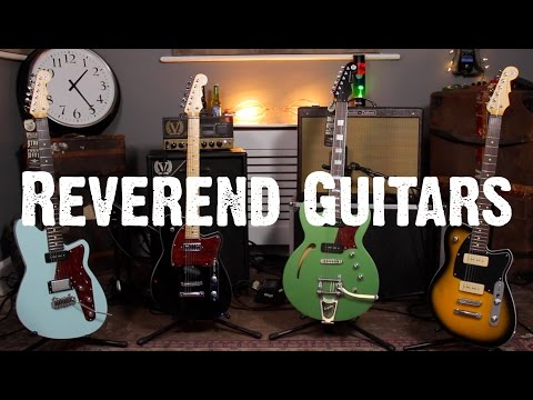 Guitar Paradiso - Reverend Guitars - Secret Guitar Agents!!