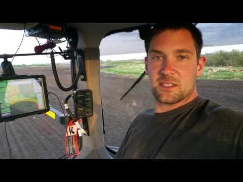 Corn planter technology inside the cab-Deere 2630