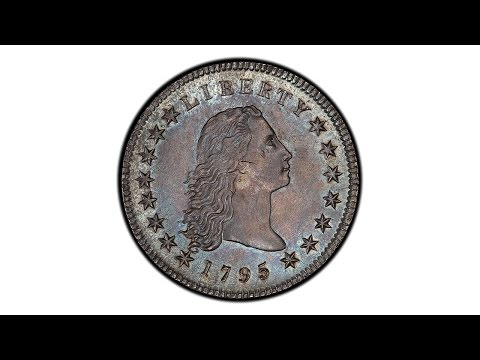Spectacular 1795 Silver Plug Flowing Hair Dollar - The D. Brent Pogue Collection II