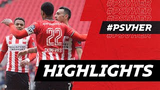 Boscagli as a CM 👌🏻 & what a goal from Ihattaren ☄️ | HIGHLIGHTS PSV - Heracles Almelo