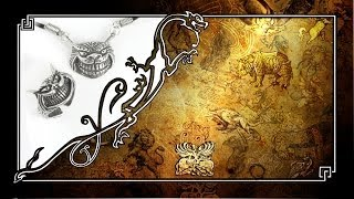 ЧЕШИРСКИЙ КОТ ~ ГАРНИТУР, КУЛОН И КОЛЬЦО C ЛЕГЕНДАРНЫМ МИСТИЧЕСКИМ ЧЕШИРСКИМ КОТОМ 1829