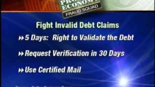 Fraud Squad:  Protect Yourself From Invalid Debt Claims