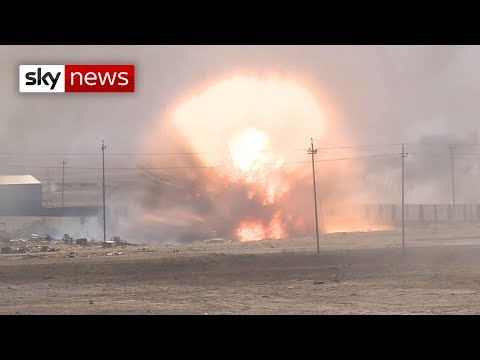The battle for Mosul: Sky crew under fire from Islamic State