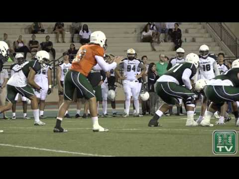 Hawaii Football Spring Finale Intrasquad Scrimmage