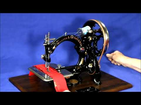 Antique Sewing Machines - Lizzy May - Before and After Update
