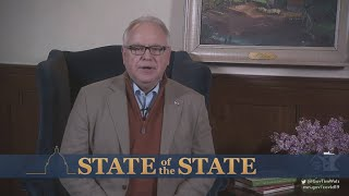Gov. Tim Walz Gives State Of The State Address