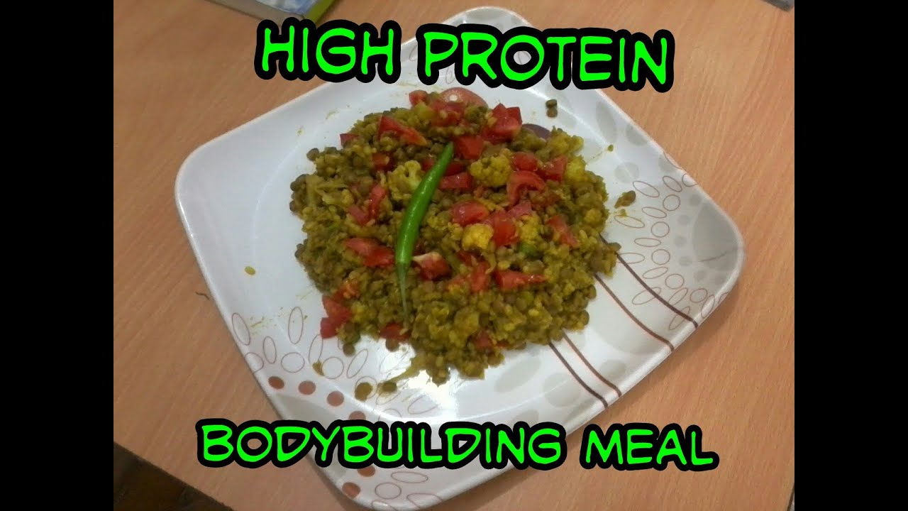 High Protein Veg Food In India