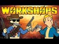 CLAIMING DEFENDING WORKSHOPS AND RAIDING IN  FALLOUT 76