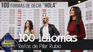 La admirable demostración de Pilar Rubio: saludar en 100 idiomas diferentes - El Hormiguero 3.0