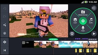 How To Make Intro 3D Animation Minecraft on Android (KineMaster) | Cara Membuat Intro 3D Minecraft
