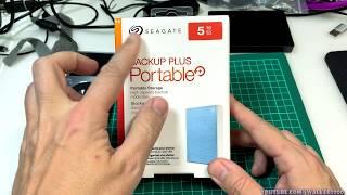 ГадЖеТы: достаем из коробки и тестируем Seagate Backup Plus Portable 5TB External USB 3.0 2.5' HDD