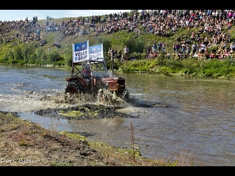 Tractor racing in Iceland 2012 part 1