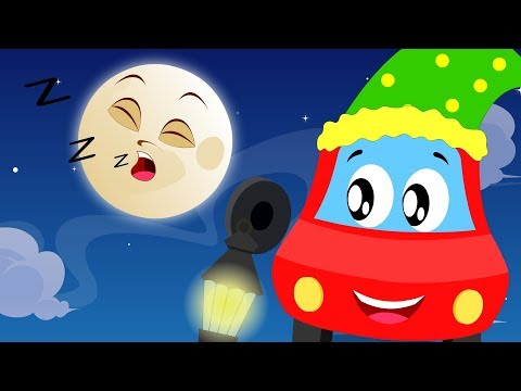 Wee Willie Winkie | Little Red Car Songs For Kids | Fun VIdeos