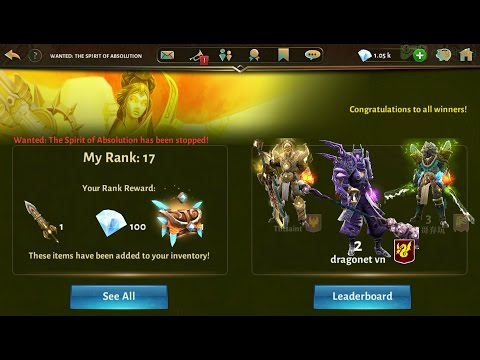 Dungeon Hunter 5-How To Achieve MILLIONS Points Using 1,000 GEMS In New WC'S[FULL HD]