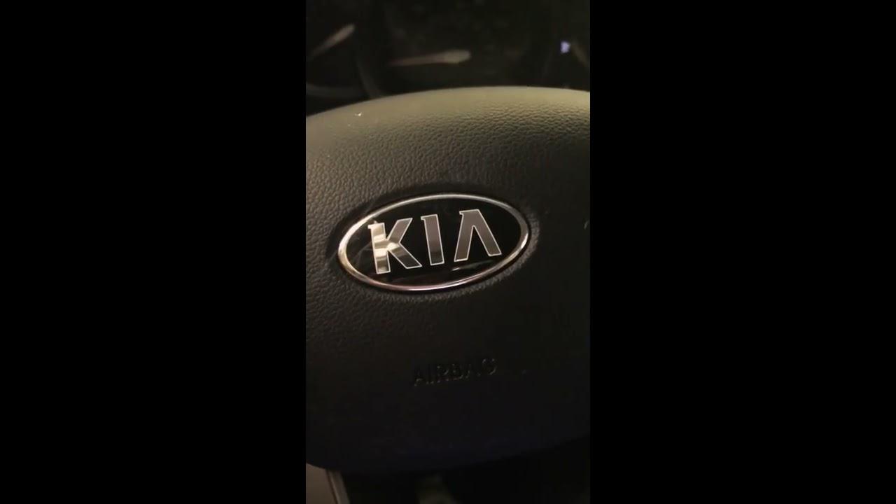kia sportage manual key start