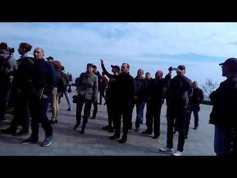 Одесские сепаратисты кричат 'Донбасс, мы с тобой!'