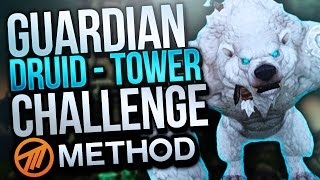 Guardian Druid Tank Mage Tower Challenge - Method Sco - The Highlord's Return